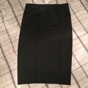 Zara pencil midi skirt